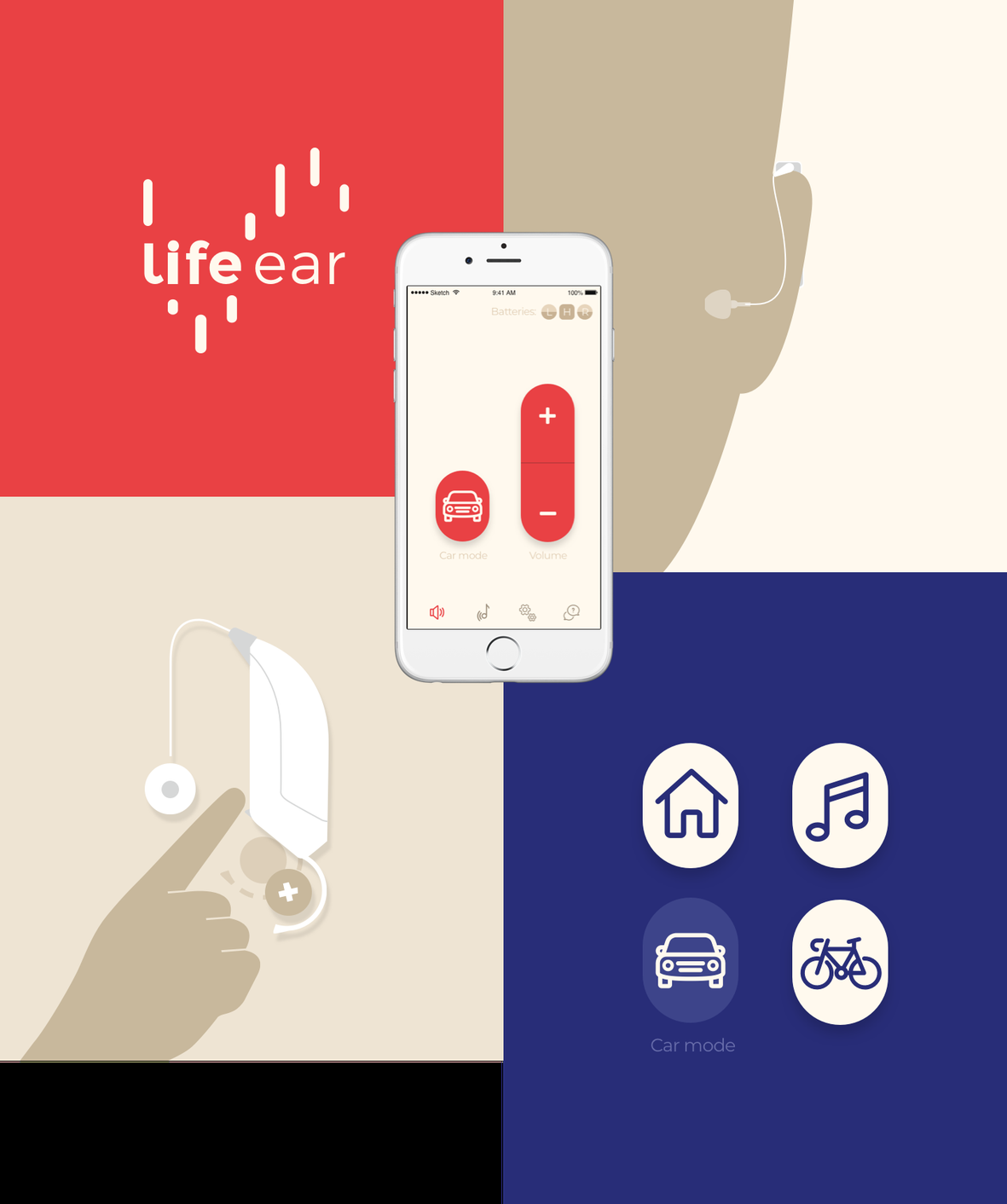 LifeEar design app Fabrique