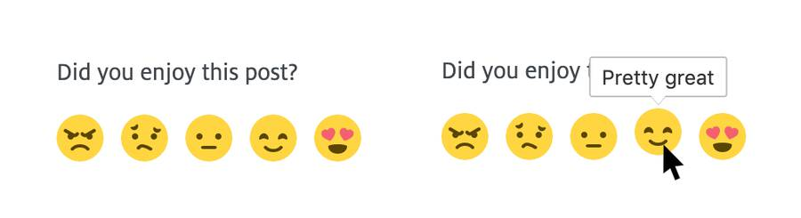 Not everybody understands emotion in emoji, so simply help with some text.